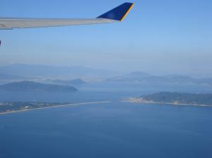 志賀島と海ノ中道
